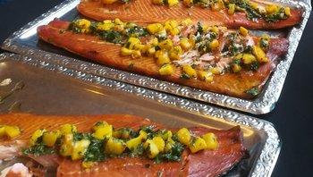 Oklahoma Smoked Salmon